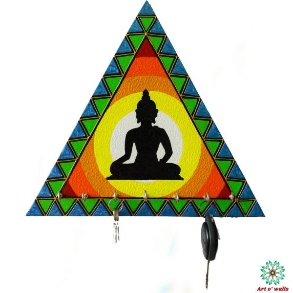 Abstract Buddha Key hanger