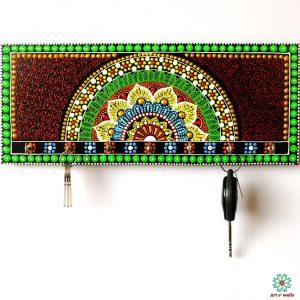 Royal Mandala Style Key Hanger