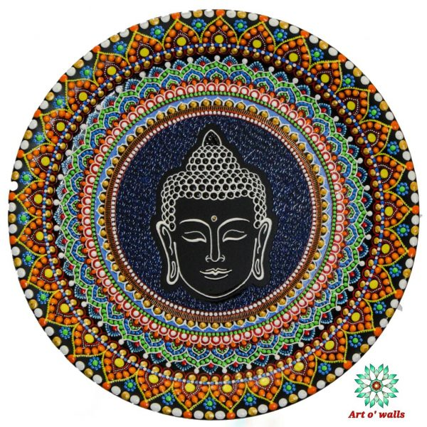 Buddha decorative plate(hanging): Exclusive Range