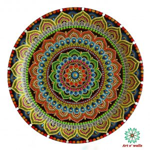 Mandala Decorative plate(hanging): Exclusive